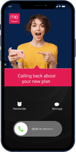 PicUp Call Screen